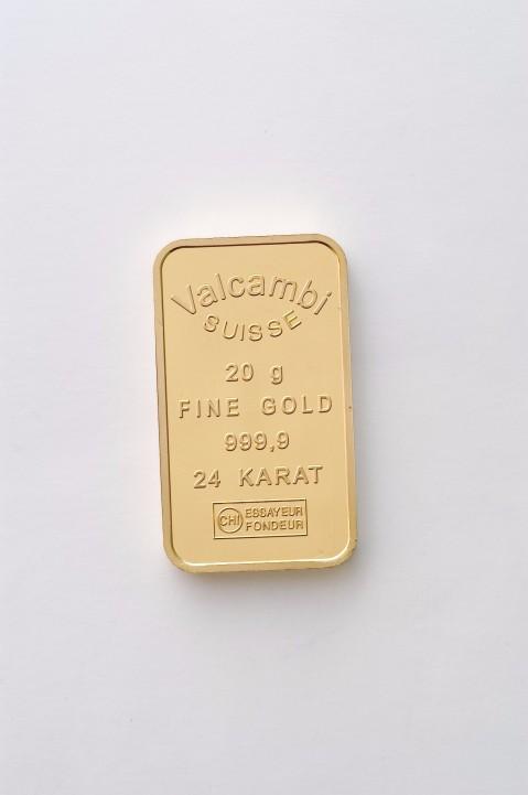 20g Valcambi Goldbarren