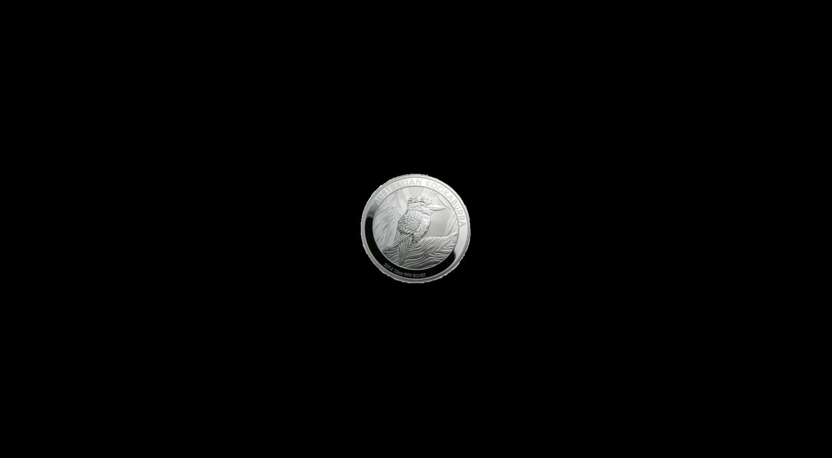 10 Unzen Kookaburra  Silbermünze