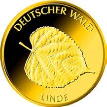 """20-Euro-Goldmünze 2015 """"Linde"""""""