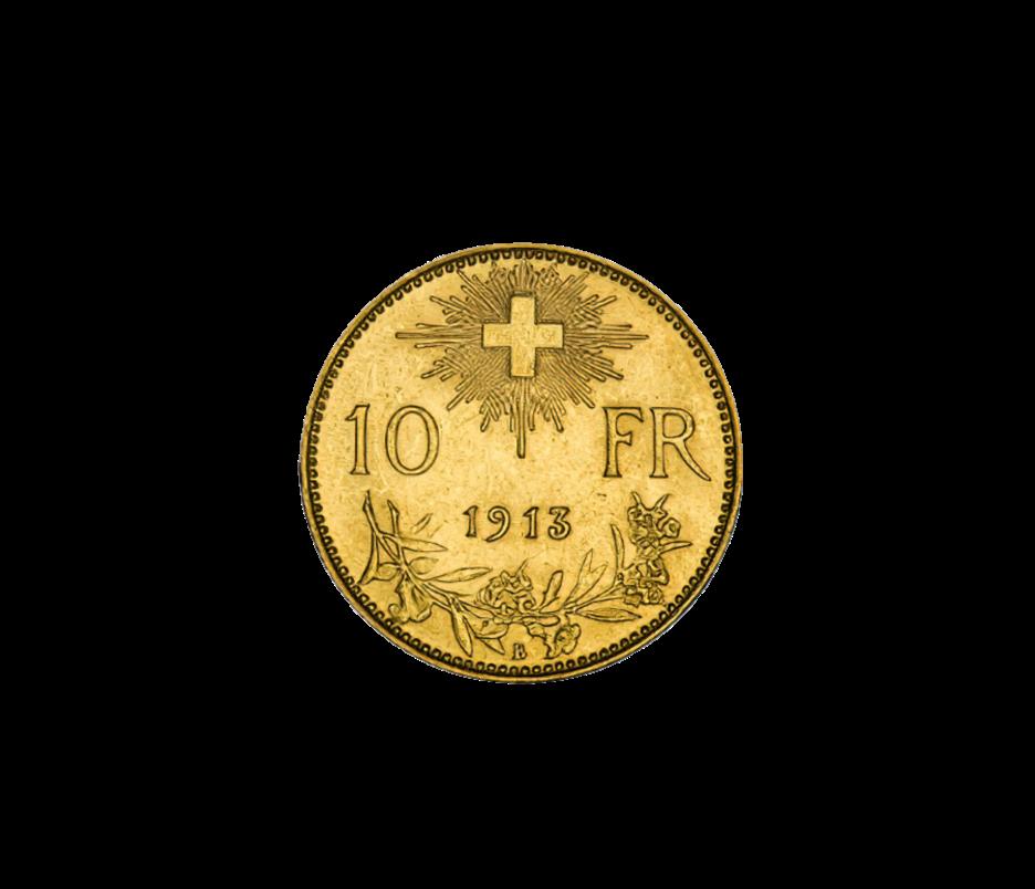 10 Franken Schweiz 10 Vreneli
