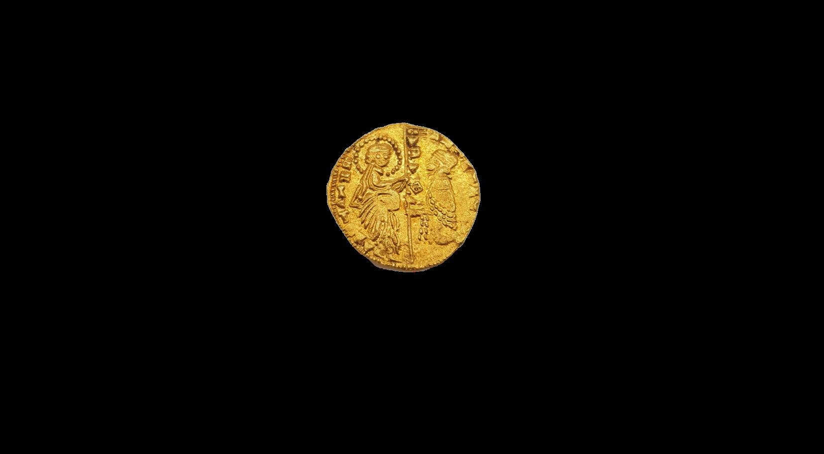 italienische Zechine Goldmünze Italien Venedig ohne Jahr italienische Dukat