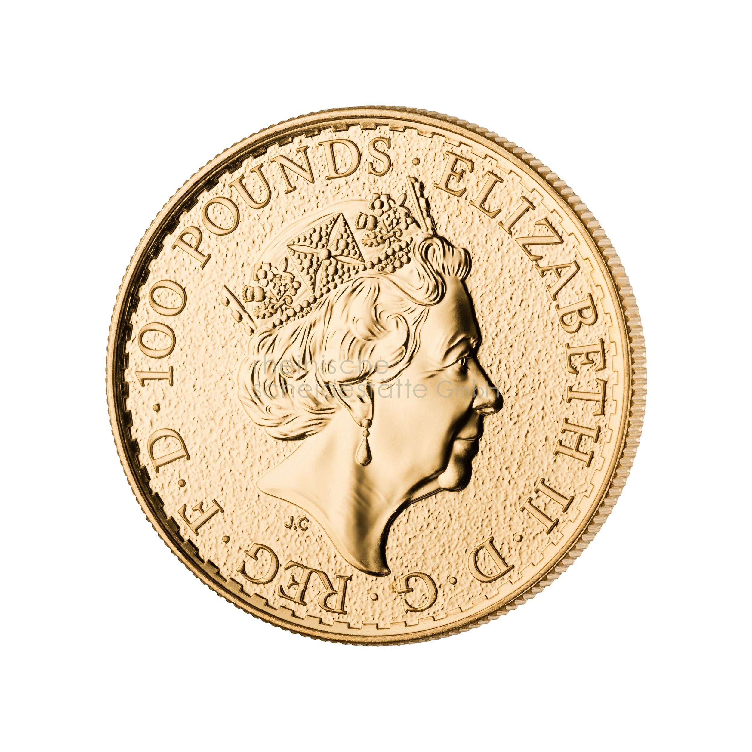 1 Unze Britannia Goldmünze 2