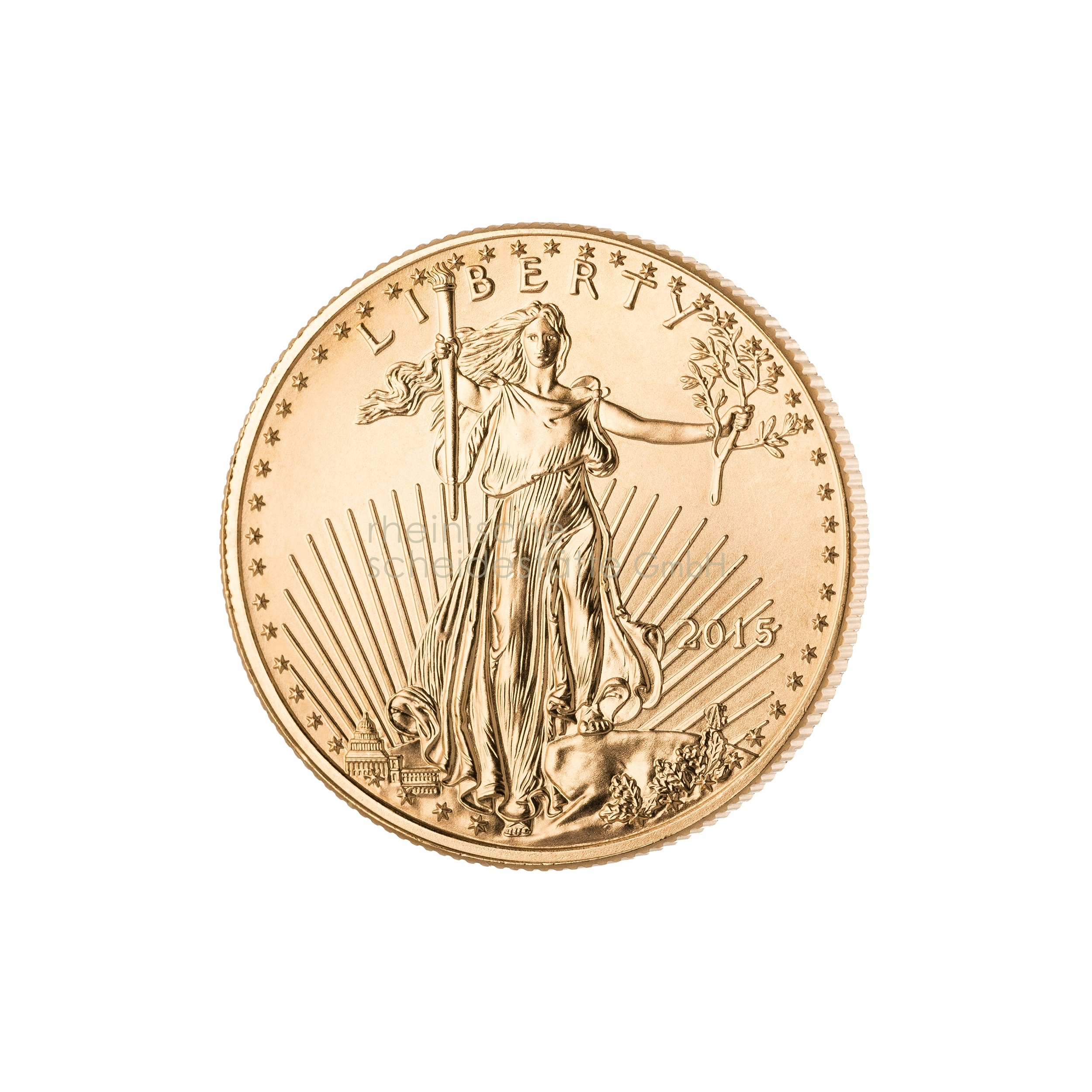 1/2 Unze American Eagle Goldmünze 2