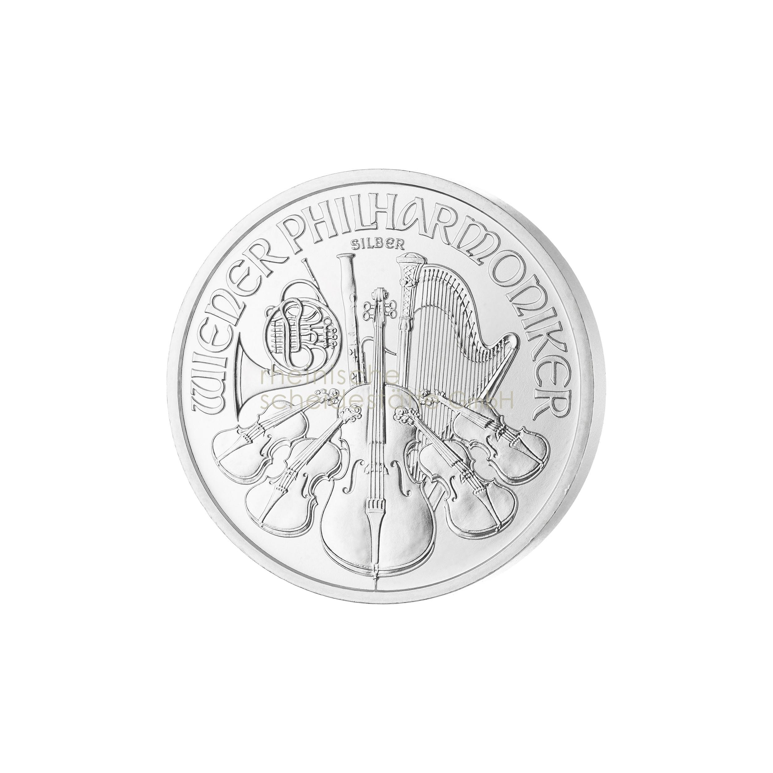 1 Unze Wiener Philarmoniker Silbermünze 2