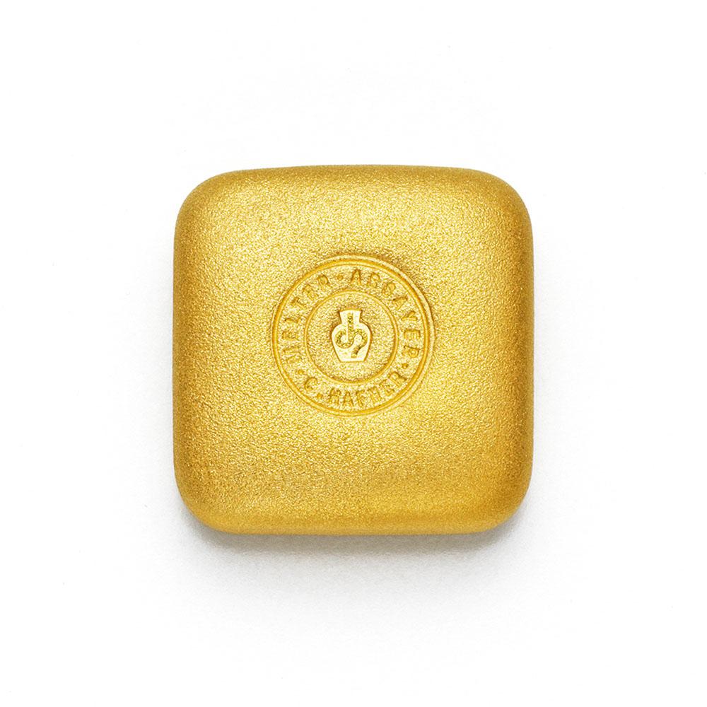 50g Hafner Goldbarren Guss c