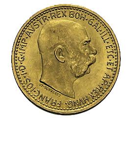 10 Kronen Österreich Goldmünze