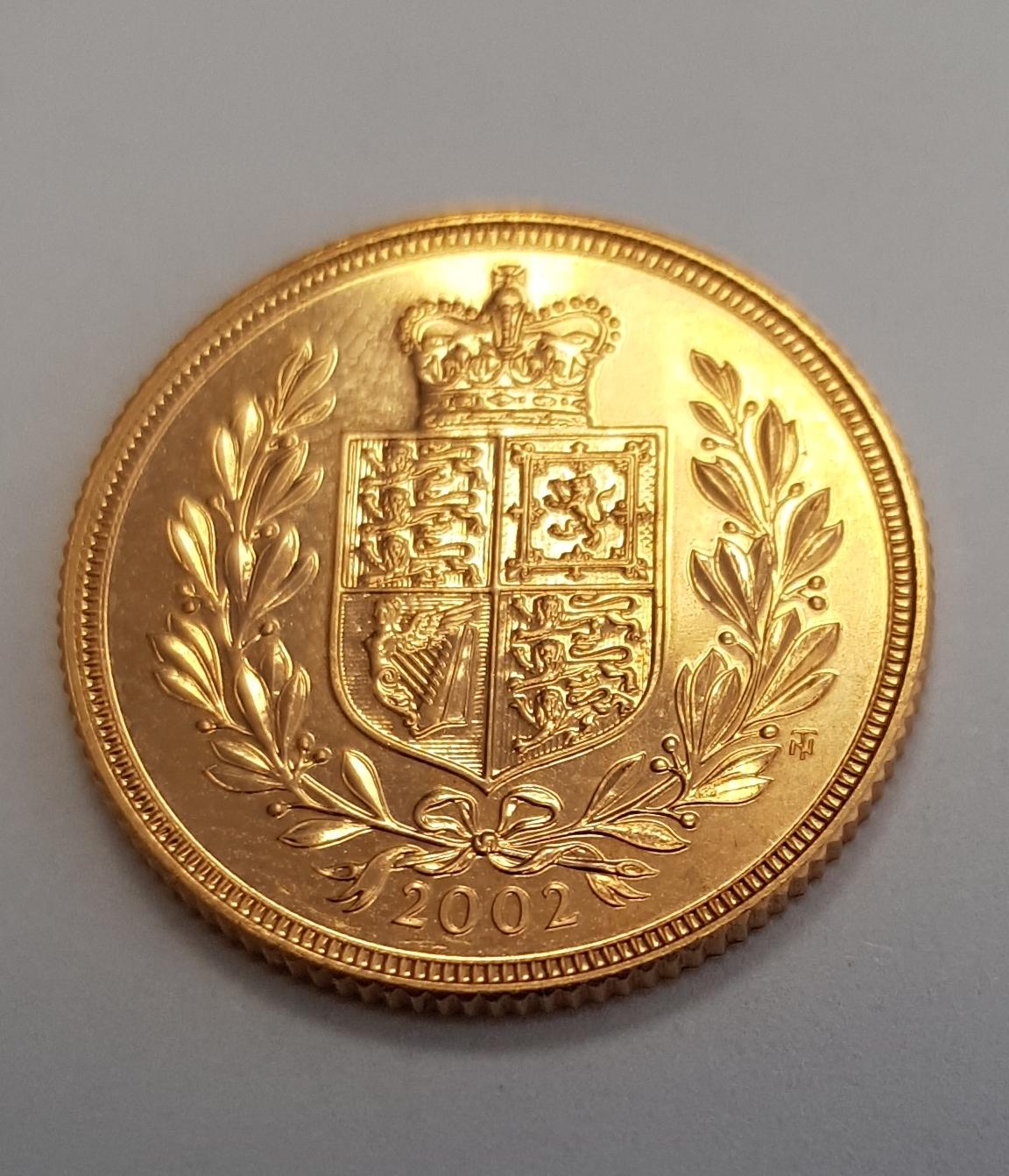 1 Pfund Sovereign proof 2002