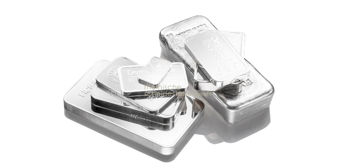Silberbarren kaufen  Grössen
