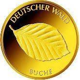 "20-Euro-Goldmünze 2011 ""Buche"""