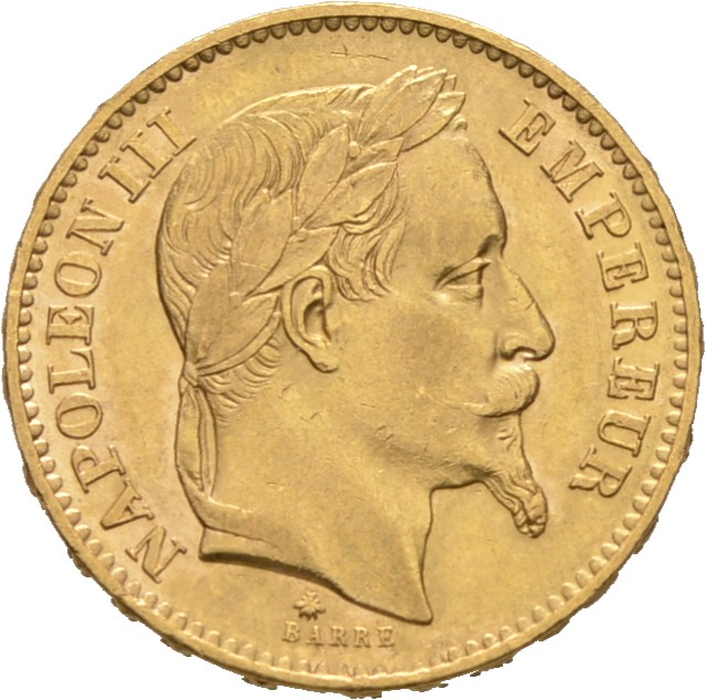 20 Franc Napoleon III