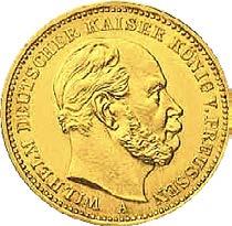 20 Mark Wilhelm I -  Preußen