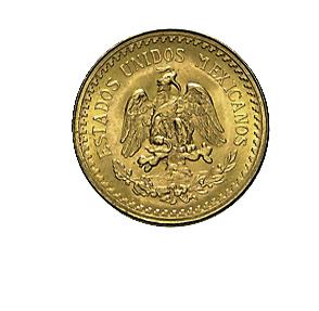 2,5 Pesos Goldmünze Mexiko 1/4 Hidalgo