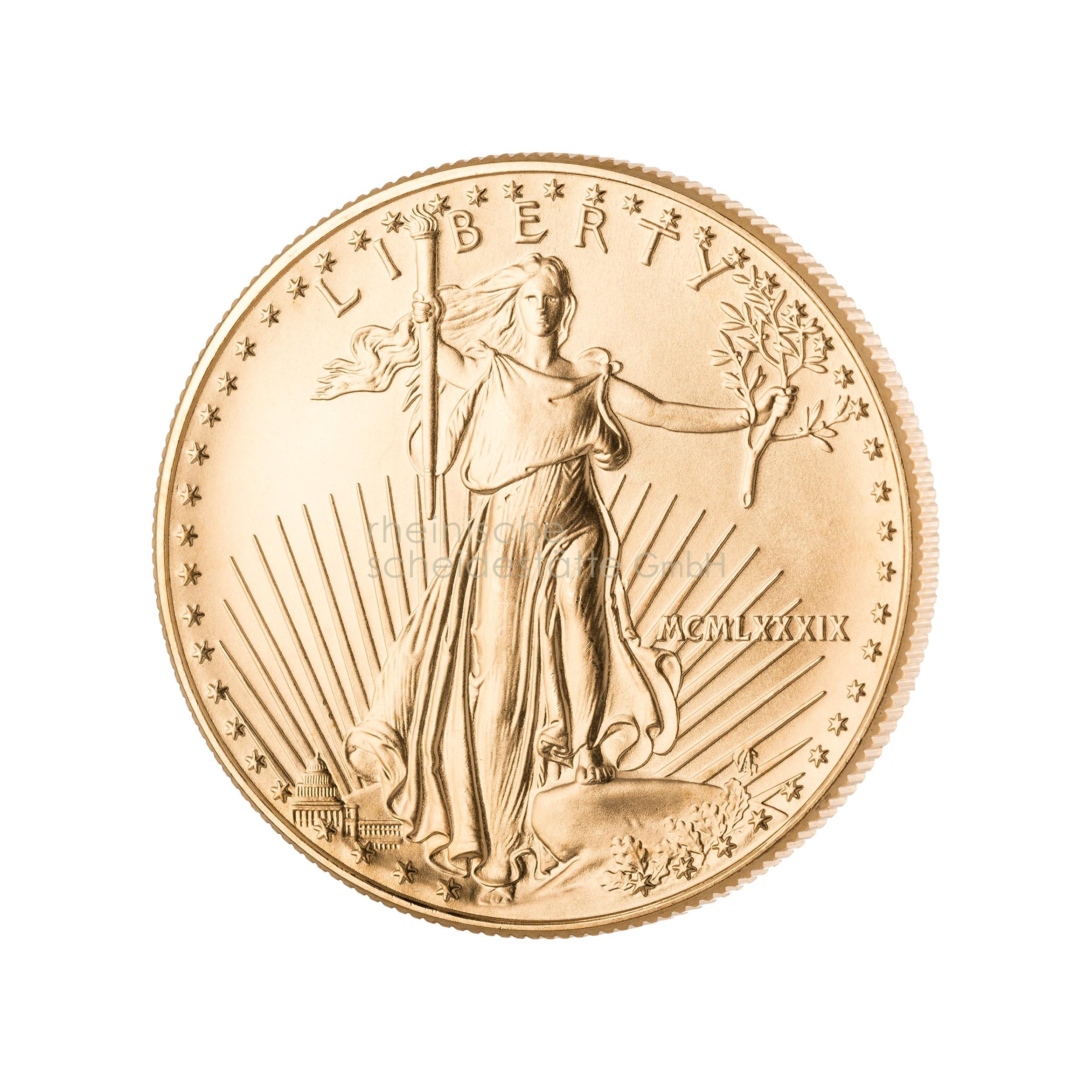 1 Unze American Eagle Goldmünze 2