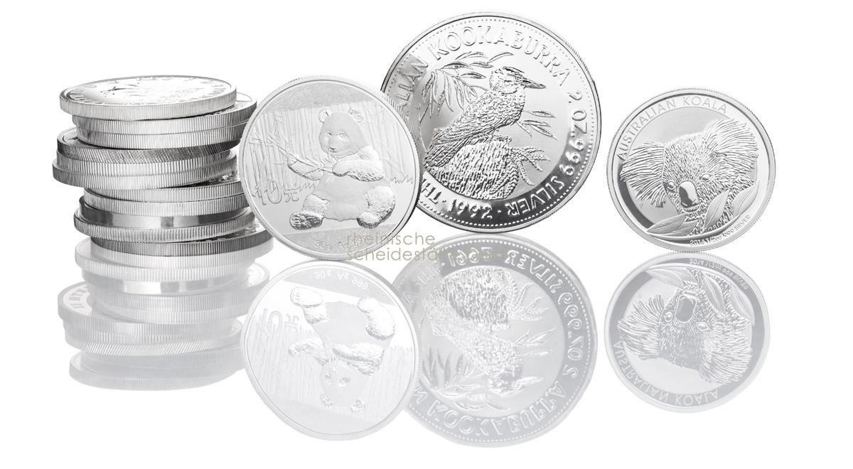 Silbermünzen kaufen Handel