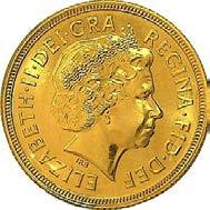 1/2 Pfund Goldmünze The Sovereign