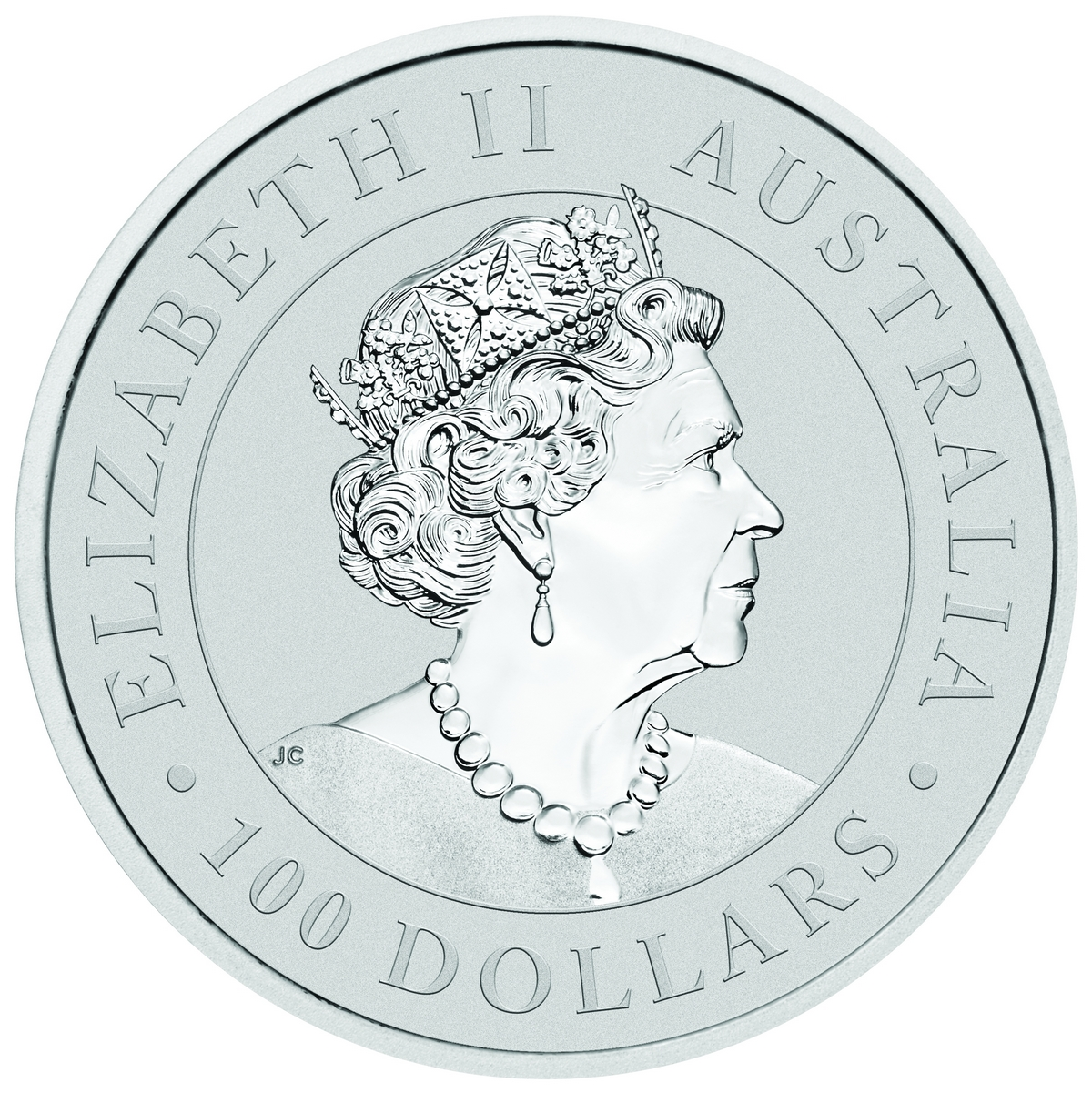 1 Unze (oz) Australian Kangaroo Platinmünzen