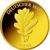 """20-Euro-Goldmünze 2010 """"Eiche"""""""