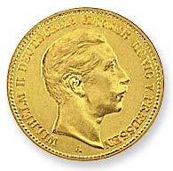 20 Mark Wilhelm II -  Preußen