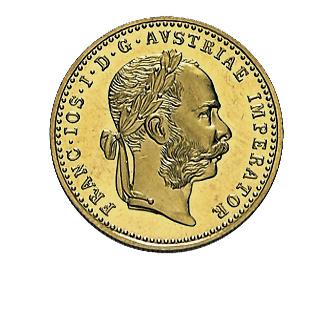 1 Dukat Goldmünze