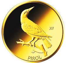 "20-Euro-Goldmünze 2017 ""Pirol"""