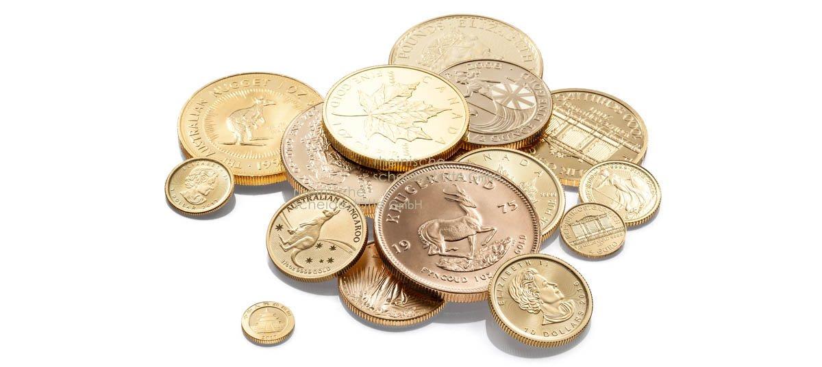 Gold kaufen Münzen