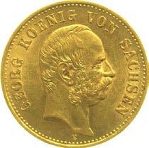 20 Mark Georg von Sachsen Prägejahr 1903 Prägestätte E
