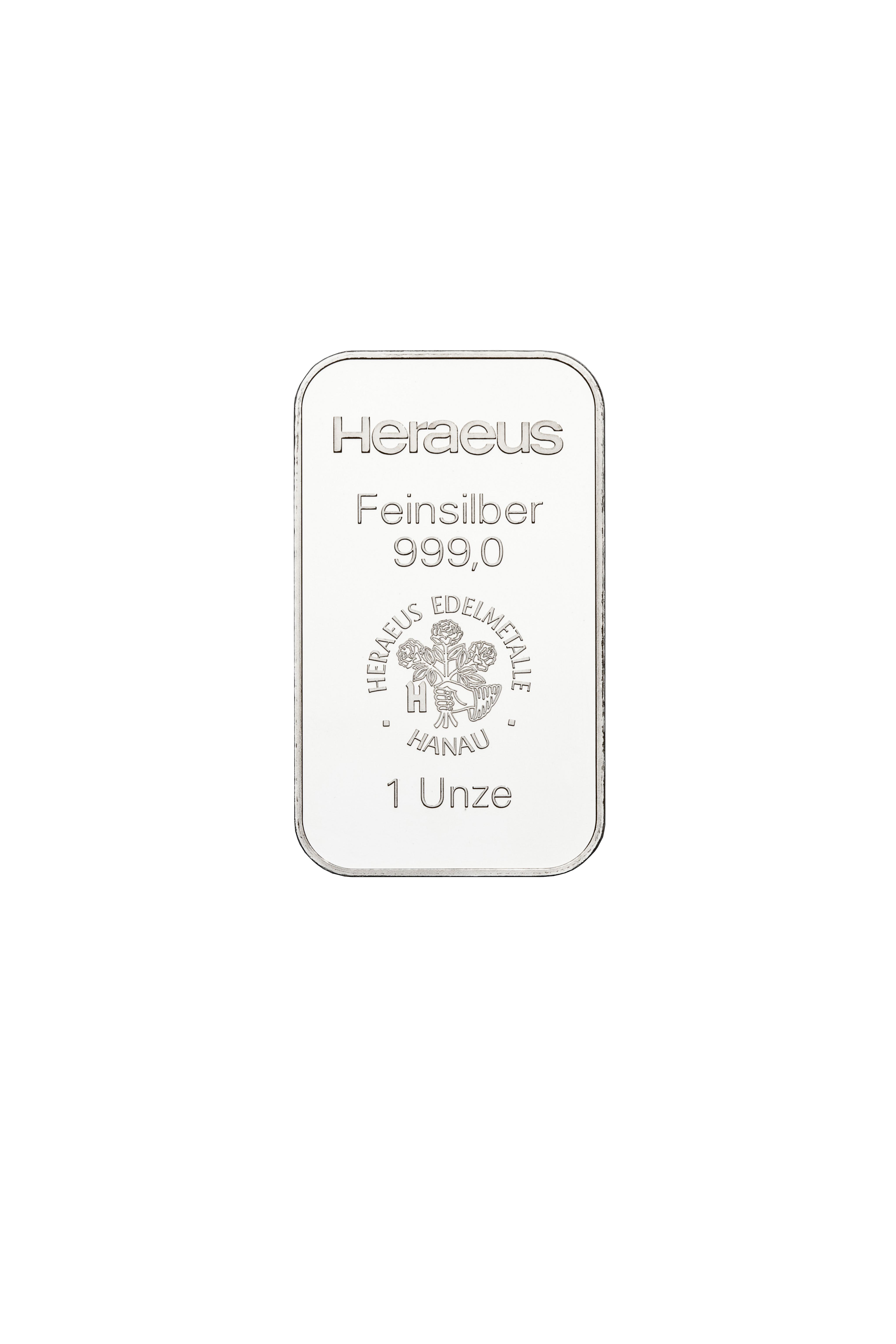 1 Unze (oz) Silberbarren Neuware