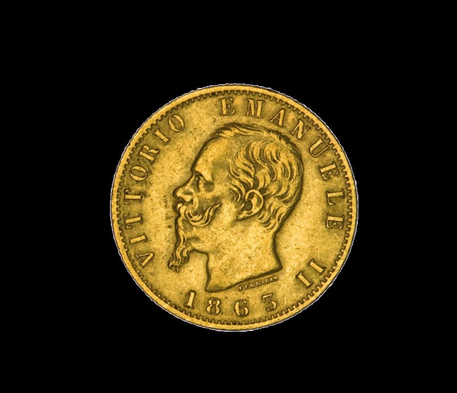 20 Lire Vittorio Emanuele II.