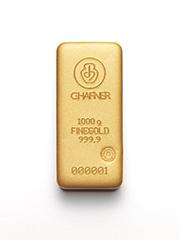 1000g Hafner Goldbarren c