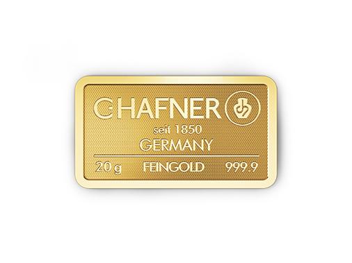 20g Hafner Goldbarren c