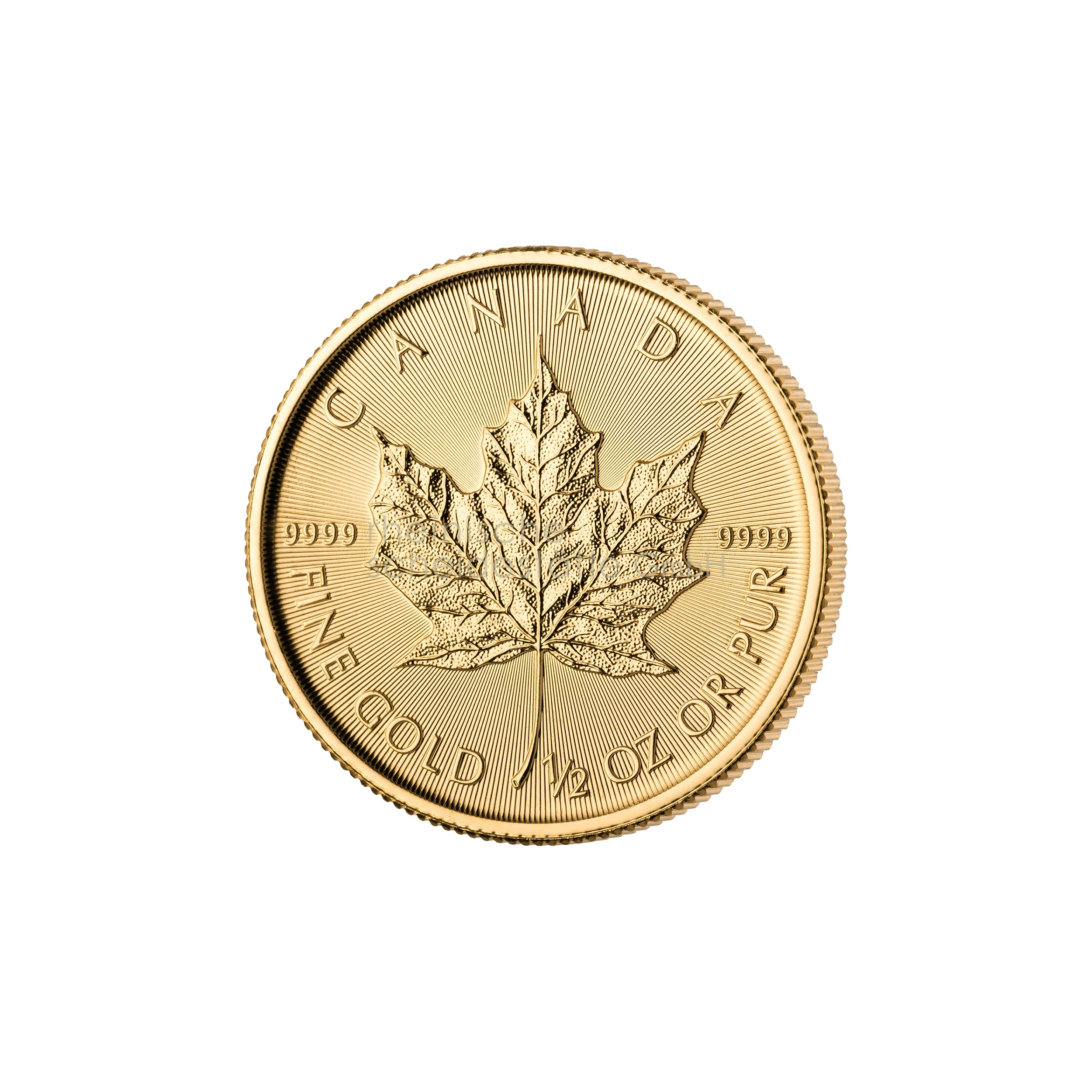 1/2 Unze Maple Leaf Goldmünze 1