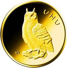 "20-Euro-Goldmünze 2018 ""Uhu"""