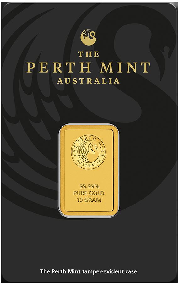 10 g Perth Mint Goldbarren