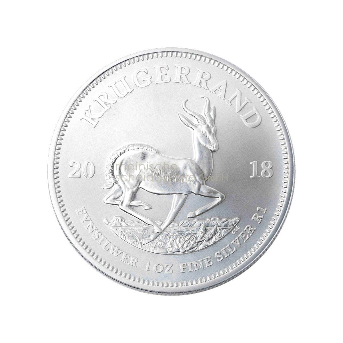 1 Unze Krügerrand Silbermünze 2