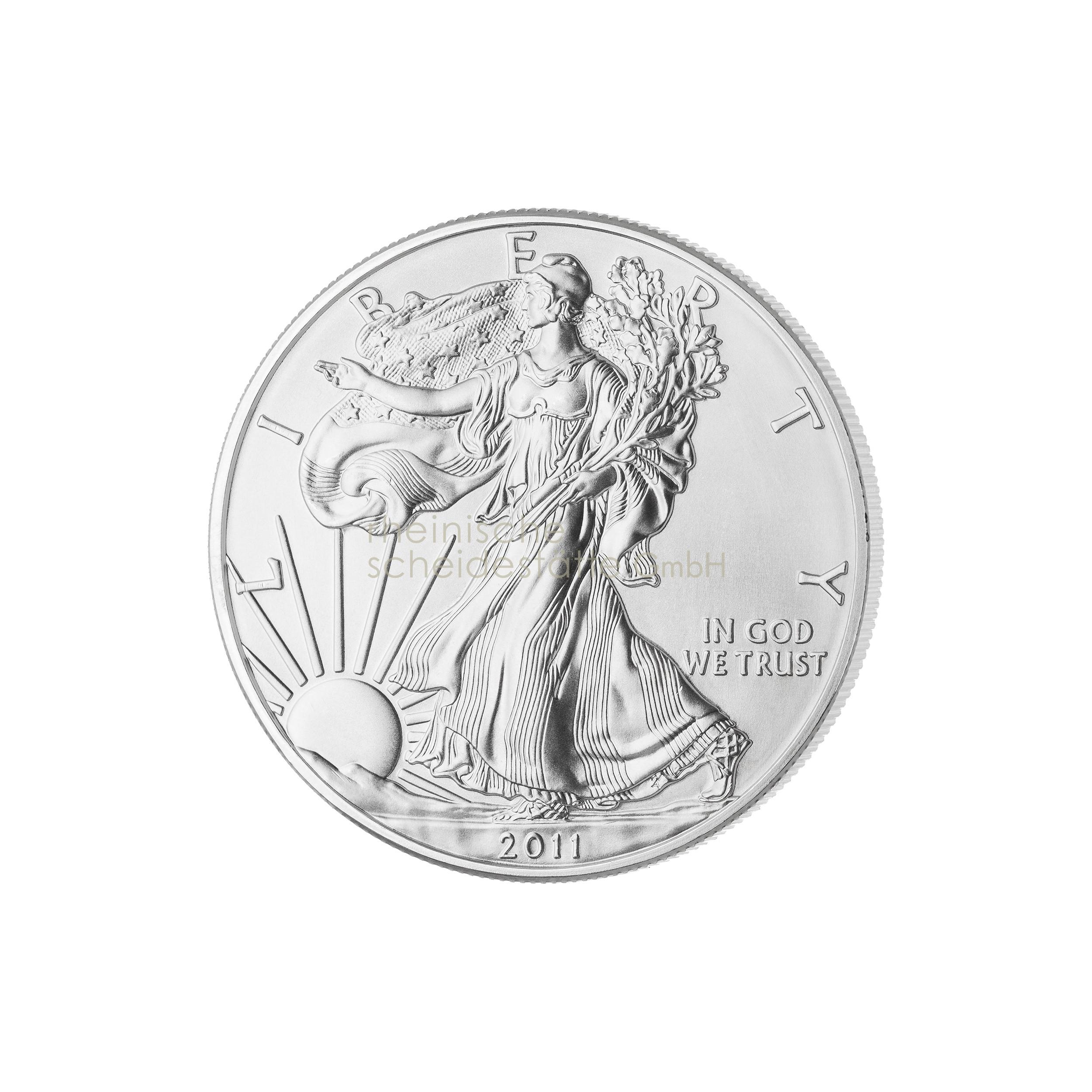 1 Unze American Eagle Silbermünze 2