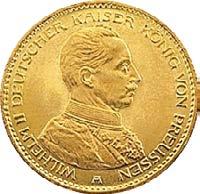 20 Mark Wilhelm II - Uniform Preußen
