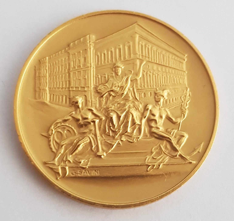 Einzelstück Goldmünze Banca d'Italia