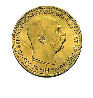 20 Kronen Österreich Goldmünze