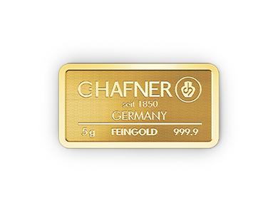 5g Hafner Goldbarren c
