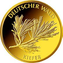 "20-Euro-Goldmünze 2013 ""Kiefer"""