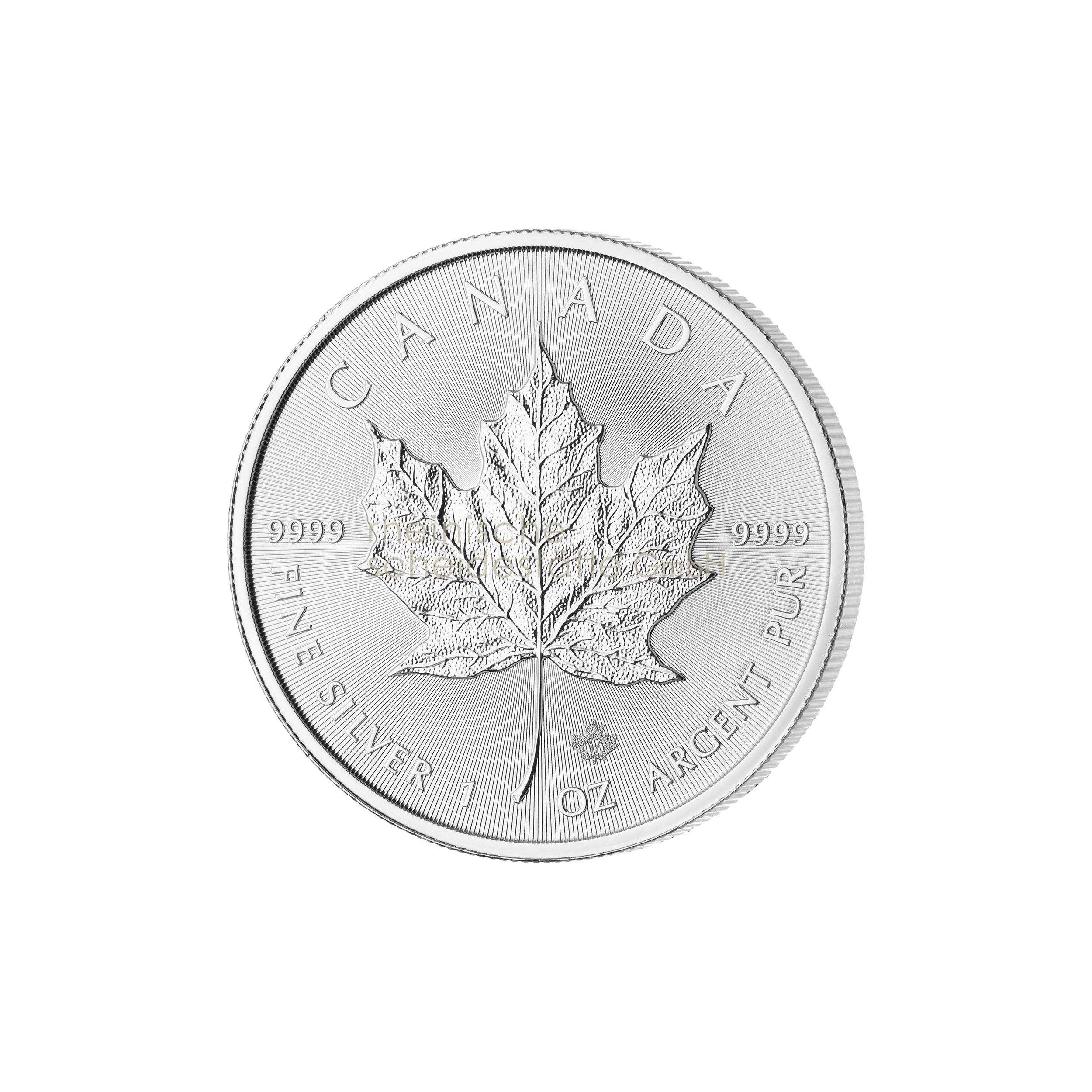 1 Unze Maple Leaf Silbermünze 1