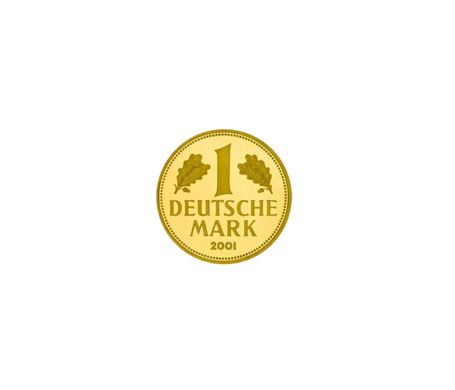 1 Deutsche Mark - Goldmark
