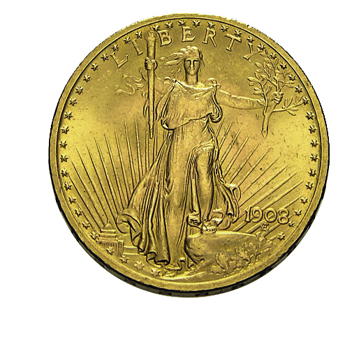 20 US-Dollar Goldmünze St. Gaudens Double Eagle Freiheitsstatue