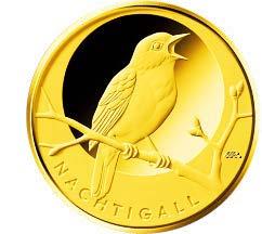 "20-Euro-Goldmünze 2016 ""Nachtigall"""