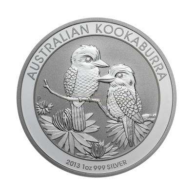 1 Unze Kookaburra Silbermünze a