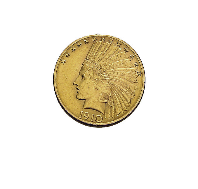 10 US-Dollar Indian Head Goldmünze Indianerkopf