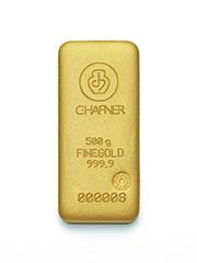 500g Hafner Goldbarren c