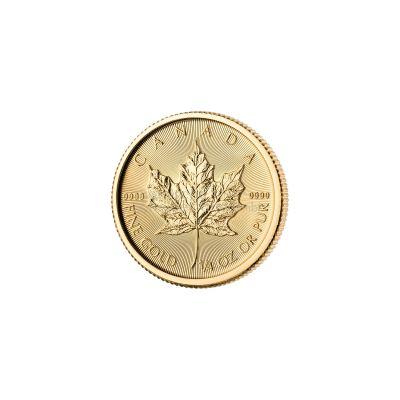 maple leaf 1 4 unze