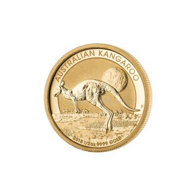 australian kangaroo 1 2 unze gold